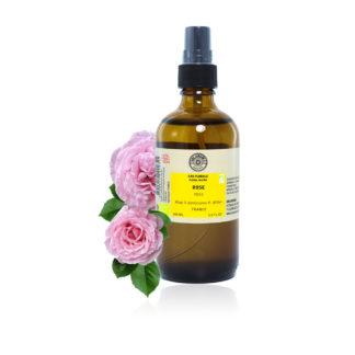 L'Eau de Rose Bio appelée aussiHydrolat de Rose Bio, est incontournable et irremplaçable pour les soins du visage et du corps. 100% PURE ET NATURELLE