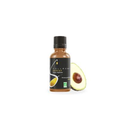 avocat bio huile végétale huile d'avocat