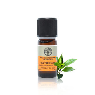 L'Huile essentielle tea tree bio,100% pure et naturelle rentre dans la composition de nombreux produits d'hygiène et cosmétiques, fongicide puissant