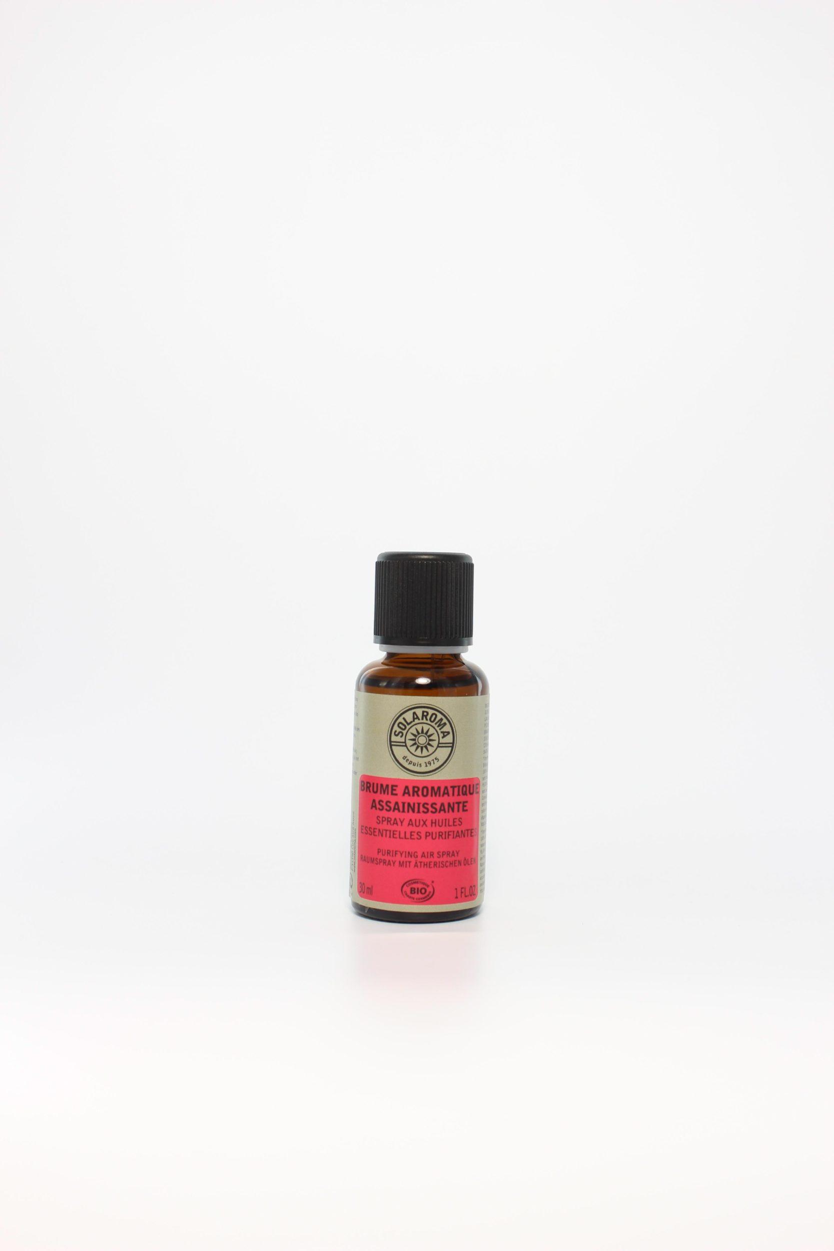 brume aromatique assainissante bio aux huiles essentielles manohi. Black Bedroom Furniture Sets. Home Design Ideas