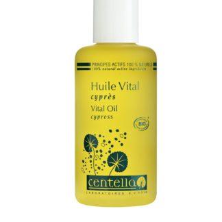 L'Huile Vital bio Jambes Légères Centella est une huile délassante de massage pour vos jambes