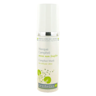 Masque camphré végétal peau non fragile qui conviendra aux peaux grasses atones ou à tendance acnéique. Il agira en fonction des besoins de la peau