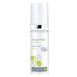 Masque Floral peau fragile; véritable coup d'éclat pour les peaux déshydratées et sensibles. Véritable cocktail d'actifs végétaux pour l'épiderme