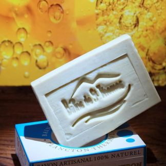 savon surgras argan-citron au plancton thermal, le savon tonique utile pour les peaux en recherche d'hydratation