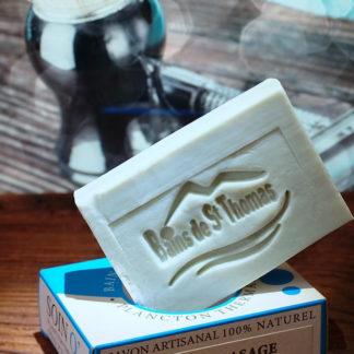 Savon rasage surgras au plancton thermal réalisé par des maîtres savonniers,concentré en plancton thermal aux bienfaits naturels et naturellement glycériné.Laisse la peau très douce et préparée pour l'application de vos soins du visage