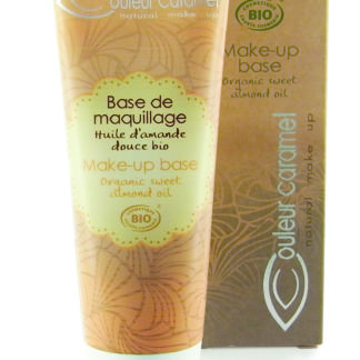 LaBase de Maquillage bio Couleur Caramel illumine le teint et optimise la tenue du maquillage. Formulé sans matières animales c'est un incontournable de votre trousse de maquillage.