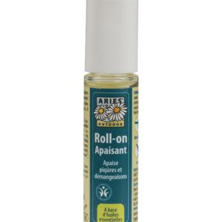 LeRoll-on Apaisant Aries calme toutes les piqûres ainsi que les démangeaisons causées par les moustiques, taons ou guêpes; orties ou bien les méduses
