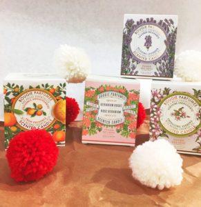 Bougies Parfumées Panier des Sens chez manohi