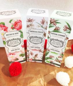 Diffuseurs de Parfum de Grasse, Panier des Sens