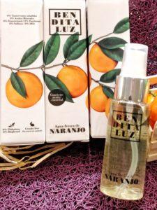 Eau de parfum à la fleur d'oranger de Séville