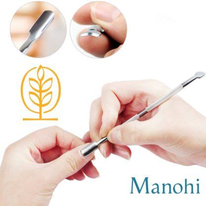 Entretien de Cuticule avec les accessoires Manohi